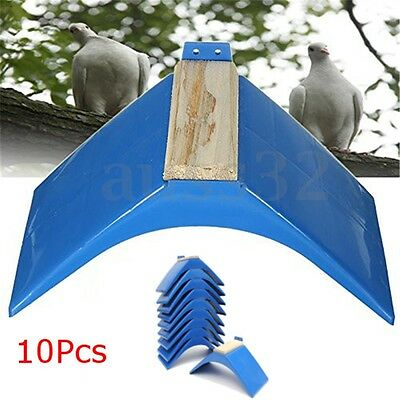 10x Pigeon Dove Grill Rest Stand Frame Dwelling Perches Roost Bird Supply + Wood