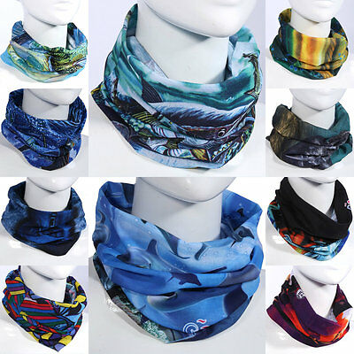 Men Women Outdoor Fly Fishing UV Protection Face Mask Neckband Scarf Headwear DH