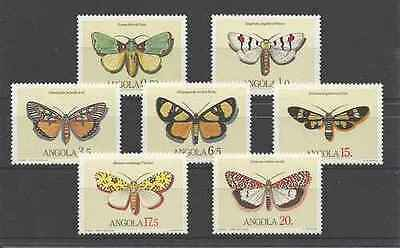 Timbres Papillons Angola 680/6 ** lot 19339