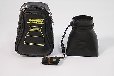 Hoodman Hoodloupe LCD Lens with case and strap great shape clean