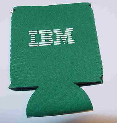 IBM Drink Koozie Cookie Bottle or Can Holder Advertising  *Nice collectible*
