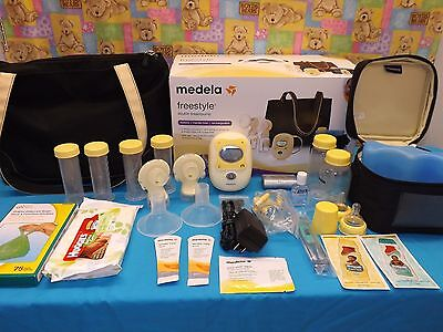 Medela Free Style Breast Pump NEW SEALED PUMPING KIT