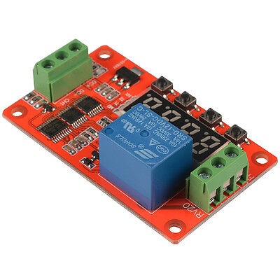 Programmable Self-lock Relay Cycle Loop Timer Switch Module PLC Delay 12V TE676