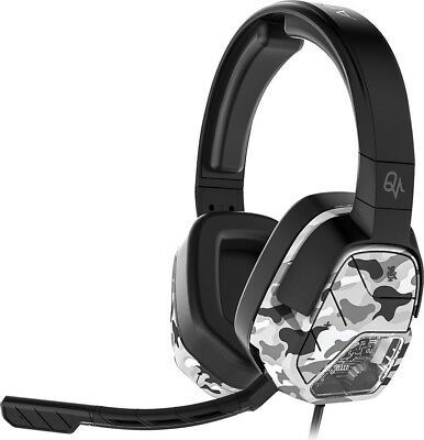 PDP 048-042-NA-WH-CAMO Afterglow LVL 5+ Wired Stereo Gaming Headset for Xbox One