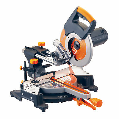 Evolution Rage 3 TCT Multipurpose Sliding Mitre Saw 255mm / 10 Inch 240V