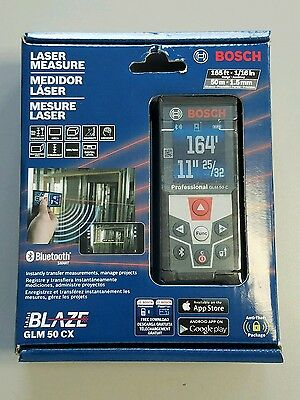 BOSCH GLM 50CX 165ft LASER MEASURE NEW - FREE SHIPPING!!!