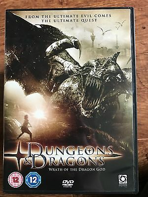 Dungeons and Dragons 3 DVD Wrath of the Dragon God 2006 Fantasy Film Sequel