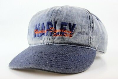 Harley Davidson Since 1903 Denim Ball Cap Adult 100% Cotton