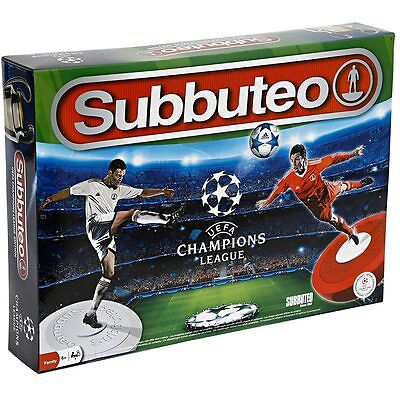 Subbuteo Champions League Edition Con 2 Squadre Accessori E Campo Da Calcio