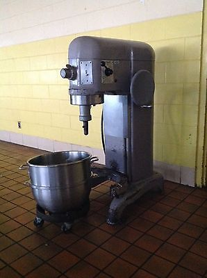 Used Hobart H 600 60 Qt Mixer With Bowl