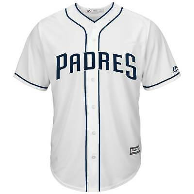 Majestic San Diego Padres Cool Base MLB Trikot Home Weiß