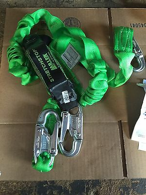 New Miller Stretchstop Lanyard Fall Protection