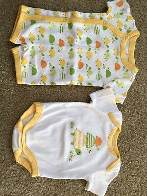 Gymboree Brand New Baby Unisex Turtle Top Outfit One Piece Set Newborn Twins