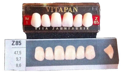 Vitapan Denture Teeth Plastic Dentist Dental Lab  T85  1M1