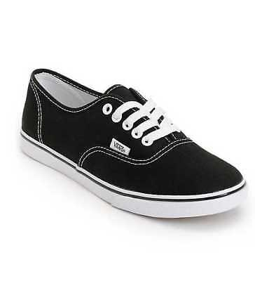 a80f6ef076ac2b New In Box Women s 6 9 Vans Authentic Lo Pro Black   True White Skate Shoes