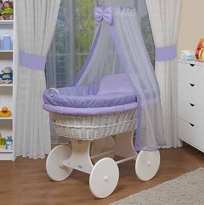 WALDIN Baby Toy wagon,Bassinet XXL NEW ! Purple