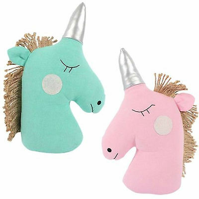 Magical Unicorn Shaped Door Stop -  Weighted - Choice Of Colour - New & Tagged