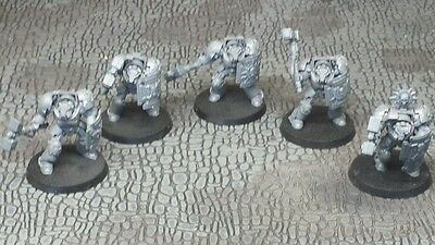 Lot of Five (5) Iron Lords Space Marine Terminators Warhammer 40,000 40K USED