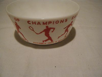 vintage breakfast of champions wheaties cereal bowl sports red graphics