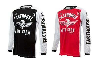 Fasthouse Adult MX ATV Motocross Original Air Cooled Jersey All Colors S-3XL