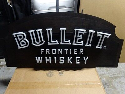 Bulleit Frontier Whiskey Led Neon Light Sign
