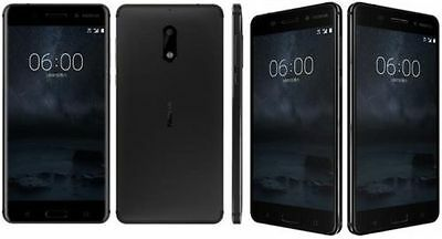 """Nokia 6 Mobile 4Gb Ram/64Gb Rom/android 7.0/5.5"""" Screen/16Mp Cam Unlocked"""
