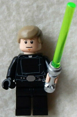 NEW LEGO STAR WARS LUKE SKYWALKER MINIFIG jedi master figure minifigure 75093