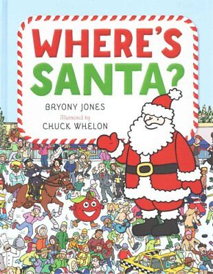 Where's Santa? by Bryony Jones (Hardback, 2015)