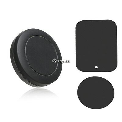 Universal Car Magnetic Sticky Phone Holder Mount Stand For iPhone Samsung GPS