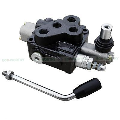 Hydraulic Directional Control Valve 18gpm 3 Position Chrome Plated Spool