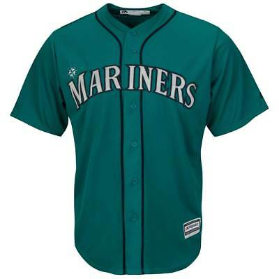 Majestic Seattle Mariners Cool Base MLB Trikot Alternate Grün