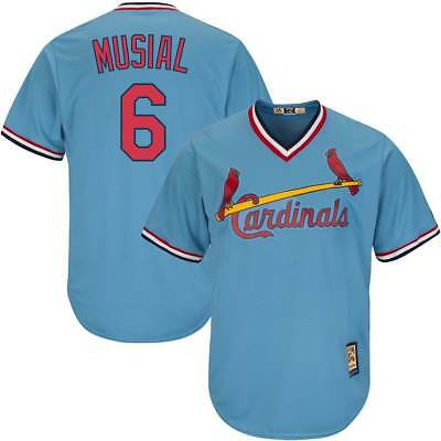 Majestic Stan Musial #6 St. Louis Cardinals Cool Base MLB Trikot