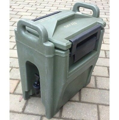CAMBRO Ultra Camtainer UC250 10.4L HOT & COLD Drink Dispenser Ex British Army