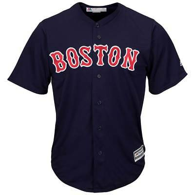 Majestic Boston Red Sox Cool Base MLB Trikot Alternate Navy