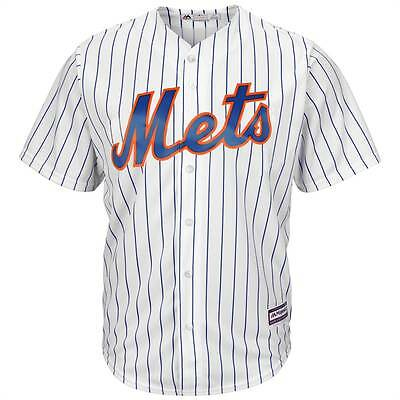 Majestic New York Mets Cool Base MLB Trikot Home