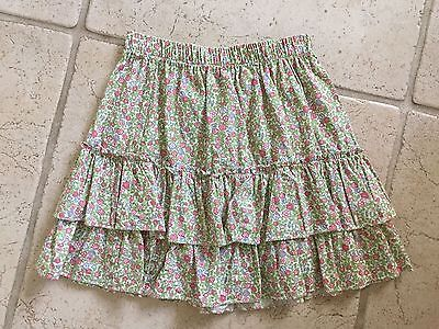 Girls Bella Bliss Skirt Size 12 Floral Print