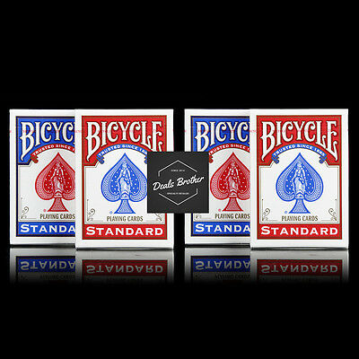 4 Decks Bicycle US Standard Playing Cards Truested Poker Card Made in USA New