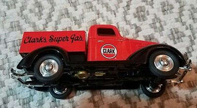 Brand New Clark's Super Gas Red Truck Collectible Limited Edition