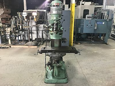 "Bridgeport J Head 9"" x 32"" Vertical Milling Machine"