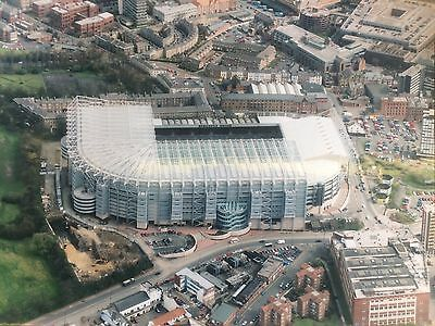 """SUPERB VERY LARGE 12"""" x 16"""" AERIAL PHOTOGRAPH OF ST JAMES' PARK NEWCASTLE UNITED"""