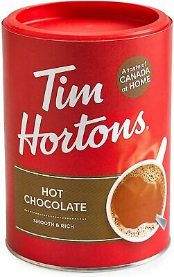 4 Cans of Tim Hortons Hot Chocolate -17.6oz (500g) Each  {Imported from Canada}