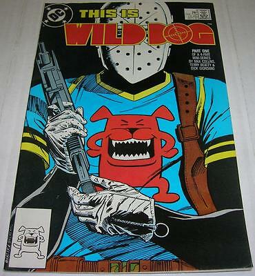 WILD DOG #1 (DC Comics 1987) 1st appearance (FN+) GREEN ARROW