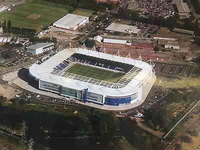 """SUPERB LARGE 12"""" x 16"""" AERIAL PHOTOGRAPH OF THE KING POWER STADIUM LEICESTER"""