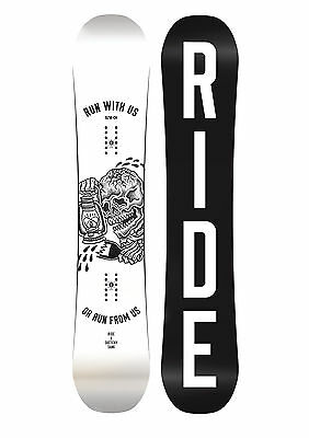 Ride Snowboards - Burnout Wide All-Mountain Freestyle Twin Hybrid Camber - 2017
