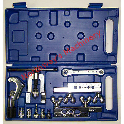 CBI CT278L Flaring and Swaging Tool Kit with HVAC 4in1 Wrench and Tubing Cutter