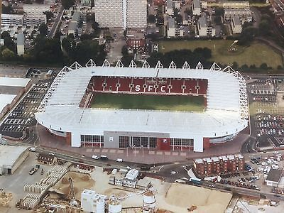 """SUPERB LARGE 12"""" x 16"""" AERIAL PHOTOGRAPH OF ST MARY'S STADIUM SOUTHAMPTON"""