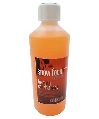ORANGE SNOW FOAM WASH 500ml Valeting, Detailing, Car Wash, Truck - Trade Chem