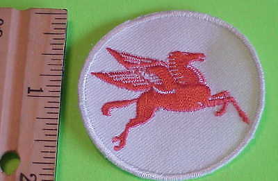 Pegasus Flying Horse Mobil Oil Gas Patch Vintage New Free Shipping !!