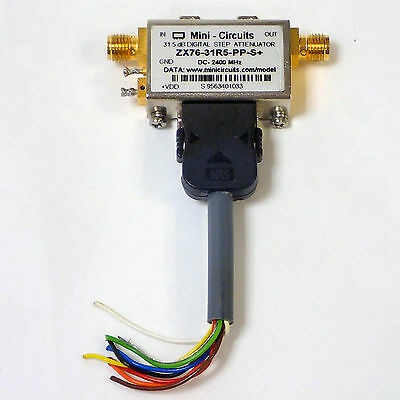 Mini-Circuits Zx76-31R5-Pp-S+  Step Attenuator Zx76Wp Used.