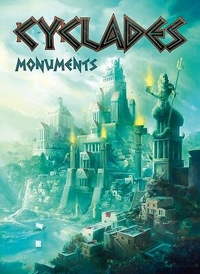 Cyclades: Monumenti Monuments Expansion New by Asterion, Italiano / Multilingual